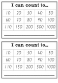 I can count! - Target cards