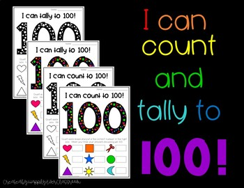 I can count and tally to 100!