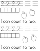 I can count apples to 5 Emergent Math Reader Review