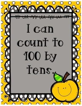 I can count by 10's to 100 (K.CC.A.1)