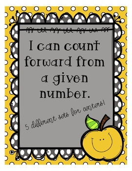 I can count forward from a given number (K.CC.A.2)