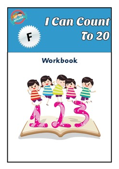 I can count to 20 - Maths Number and Place Value Workbook for Foundation