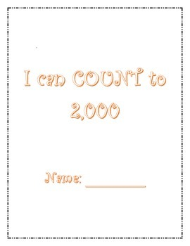 I can count to 2,000