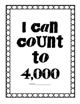 I can count to 4,000