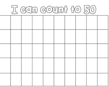 I can count to 50