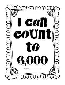 I can count to 6,000
