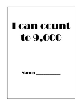 I can count to 8,000