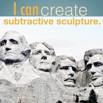 I can create subtractive sculpture
