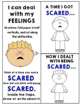 I can deal with my feelings- Scared