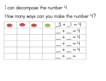 I can decompose numbers