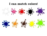 I can do the colors!