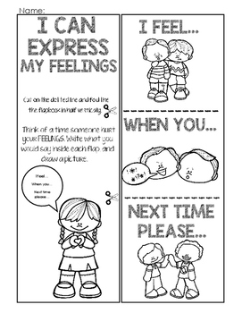 """I"" Can Express My Feelings"
