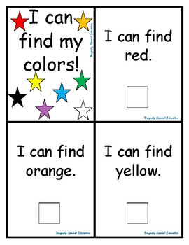 I can find my colors