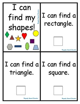 I can find my shapes!