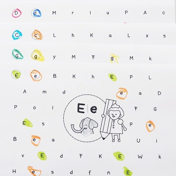 I can find well alphabets! A~M