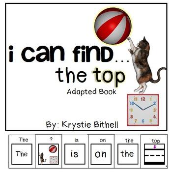 Positional Words- Top Interactive Emergent Reader