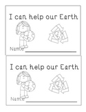 I can help our Earth Emergent Reader Earth Day Guided Reading Sight Words