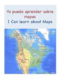 I can learn about maps yo puedo aprender sobre mapas