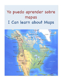 I can learn about maps yo puedo aprender sobre mapas