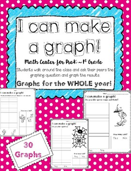 Graphing! Math Centers for the Whole Year {NO PREP}