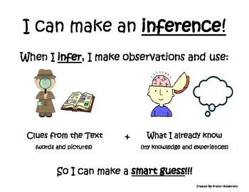 I can make an inference!
