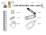 I can measure with unifix cubes!!