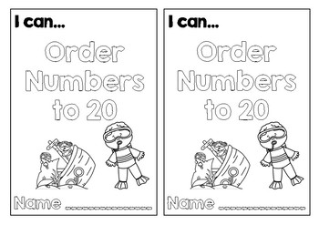 I can order numbers to 20