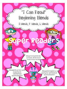 I can read Beginning Blends