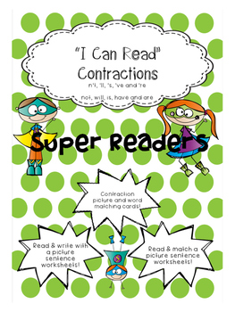 I can read Contractions