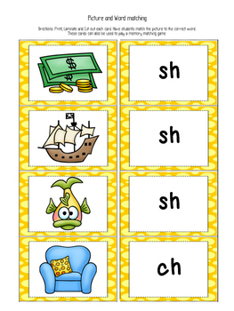 I can read Digraph (th, sh, wh, ch) sentences