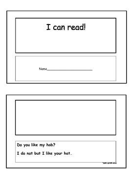 I can read! Nonsense emergent reader