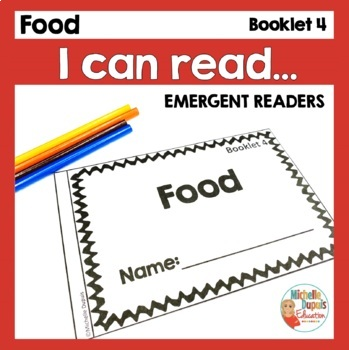 I can read - Reading booklet