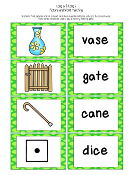 I can read Silent e (long vowel) sentences