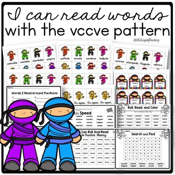 I can read myltisyllable words with the VCCVCe pattern