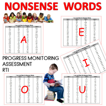 Nonsense Words Practice for Accuracy and Fluency