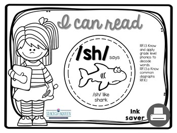 I can read...sh diagraph Ink Saver