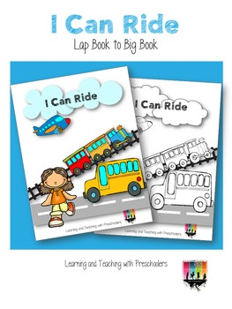 I Can Ride Lap Book to Big Book