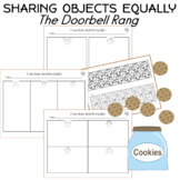 sharing objects equally worksheets The Doorbell Rang