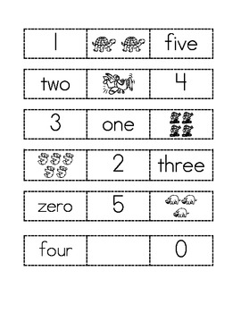I can show numbers in different ways.