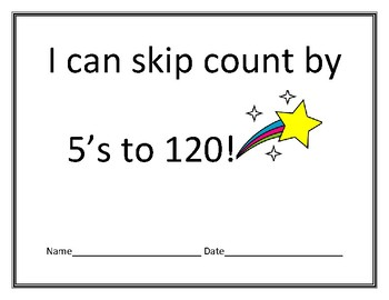 I can skip count by 5's to 120