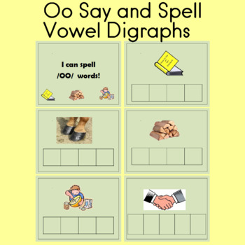 Say and spell oo words; Part 2