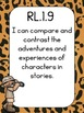 I can statements Common Core/Learning Objectives 1st grade