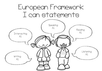 I can statements - European Framework A1 Level