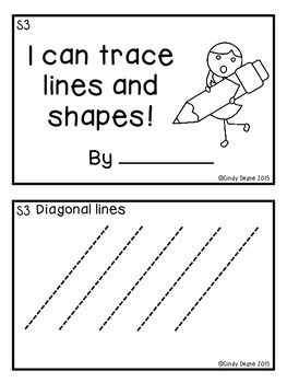 I can trace lines and shapes!