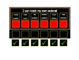 I can track my own actions! self-regulation self-monitoring