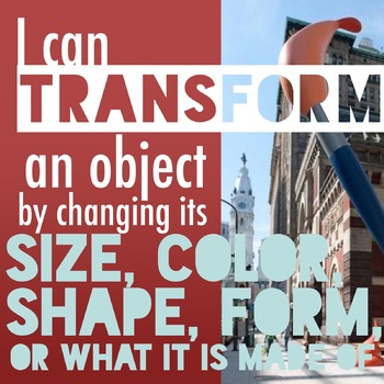 I can transform an object