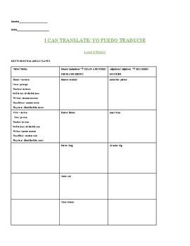 I can translate level 1-1