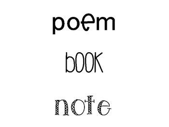 I can write...