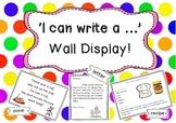 I can write a .... Wall Display!