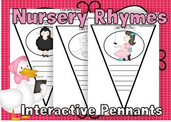 Nursery Rhymes Interactive Pennants